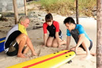Eau Gallie Beach FL Surf lessons